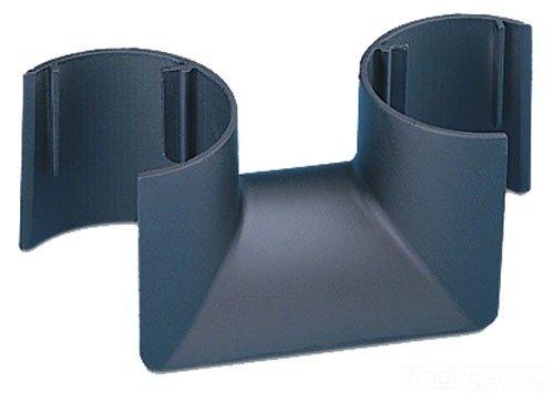 (Panduit TRC2BL Fiber-Duct Bend Radius Control Trumpet, Black)
