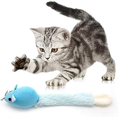 Snow Island Juguetes de Peluche para Gatos Catnip, Juguete ...