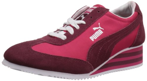 Pink Womens Virtual Wedge PUMA Stripe Womens Caroline PUMA Sneaker EpqwUqx8