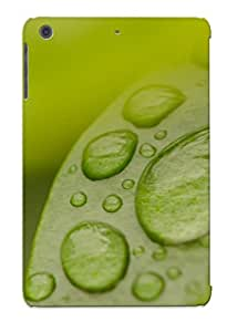 MkbbkBP4470DNFVB Dew Drops On Green Leaf Awesome High Quality Ipad Mini/mini 2 Case Skin/perfect Gift For Christmas Day