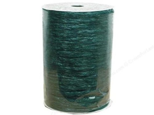 Merry Christmas Party Supplies Favors Hollywood Raffia 60 Feet Forest Green ()