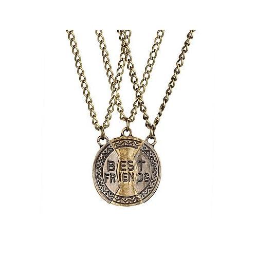 MJW&XL Femme Forme énorme Fait à la Main Pendentif de collier Colliers chaînes Coton Alliage Pendentif de collier Colliers chaînes Sortie Plein , black