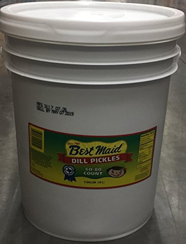 Best Maid Dill Pickle 60-80 Count 5 Gallons