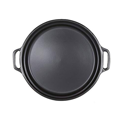 WPCBAA 29 cm Antiadherente Pizza Pan Bandeja Redonda para Barbacoa Cerámica Resistente al Calor Piedras de Pizza para...