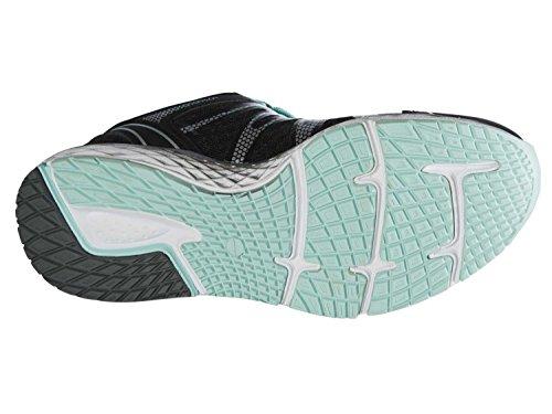 Crivit Damen Freizeitschuhe Laufschuhe Sportschuhe Atmungsaktive Air-Sponge-Sohle für ein Angenehmes Fußklima Schwarz-Türkis