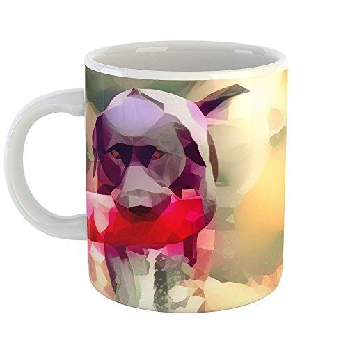 Westlake Art - Pink Vertebrate - 15oz Coffee Cup Mug - Abstract Artwork Home Office Birthday Christmas Gift - 15 Ounce (Mugs Promotional Ceramic)