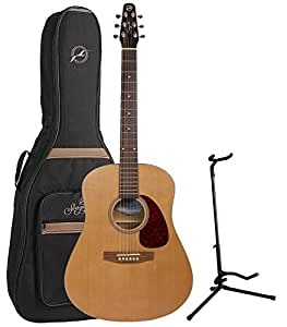 """Seagull S6 """"The Original"""" Acoustic Guitar w/Free $49 Seagull Embroidered Logo Gig Bag and Free Stand"""
