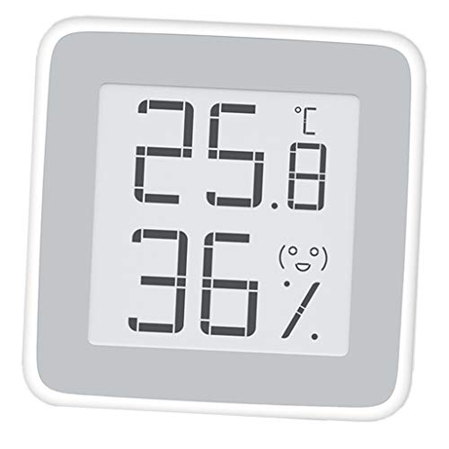 Baosity Mini LCD Screen Digital Thermometer Humidity Sensor Meter Silver by Baosity (Image #3)