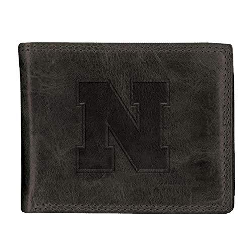 - University of Nebraska Black Westbridge Leather Wallet (Bifold)