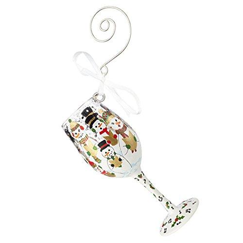Enesco Lolita Singing in the Snow - Hanging Ornament (Lolita Ornament Wine Glass)