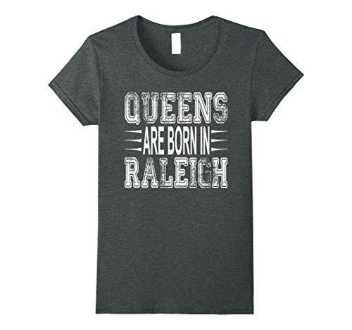 Womens Funny Raleigh North Carolina Tee Shirt For Women Kids Medium Dark (Party City North Queen)