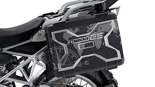 Kit de 2 Protecciones Adhesivos Maletas BMW Vario R 1200 GS Vario 2° Modelo VA New 00 - Mountain: Amazon.es: Coche y moto