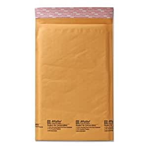 Quality Park Sealed Air Jiffy Lite Cushioned Mailers, Self Seal, #0, 6 x 10 Inches, Pack of 25 (SEL10185)