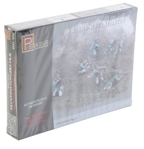 Price comparison product image Pegasus Hobbies 1 / 72 WWI French Infantry PGH7199