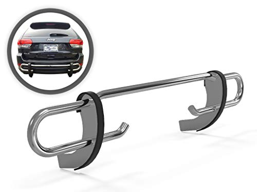 VANGUARD VGRBG-0947SS For Jeep Grand Cherokee 2011-2019 Rear Bumper Guard Stainless Steel Double Tube Style