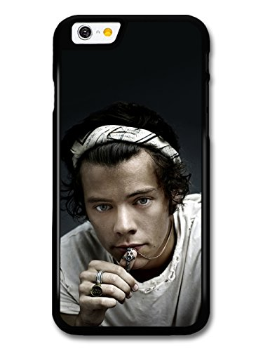 Harry Styles Close Up Chain Ring One Direction 1D hülle für iPhone 6