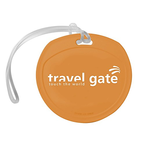 250 USA Made Personalized Round Luggage Tags Printed with Logo or Message by Ummah Promotions