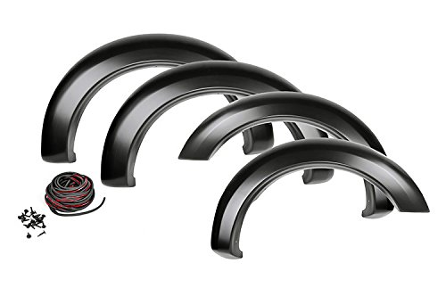 Rough Country - F-F10911S - Smooth Pocket Fender Flares for Ford: 09-14 F150 4WD/2WD 4wd Fender