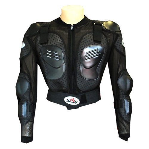 WOW MOTORCYCLE MOTOCROSS BIKE GUARD PROTECTOR YOUTH KIDS BODY ARMOR - Chest Body Armor
