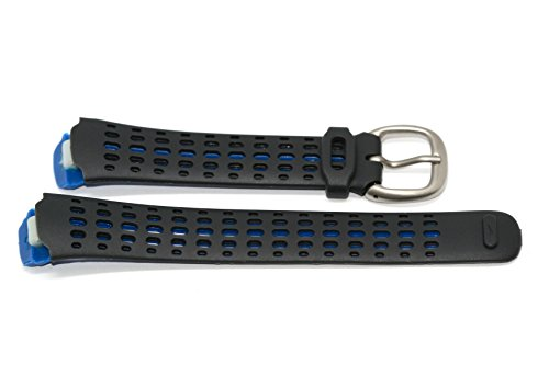 Triax Womens Watch (NIKE TRIAX SPEED 100 REGULAR BLACK BLUE REPLACEMENT RUBBER WATCH BAND)