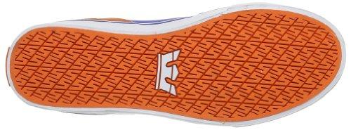 Bow Alto adulto blue Collo blau A White Unisex Supra Sneaker orange Vaider Blu WqpSw7q1n