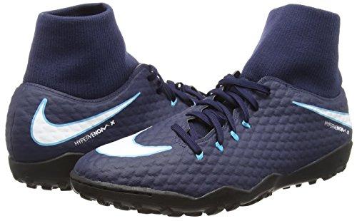 Pour Bleu Df De Tf Hypervenomx 414 Phelon Blue White 3 Glacial Gamma Chaussures Nike obsidian Football Homme qw8UvH