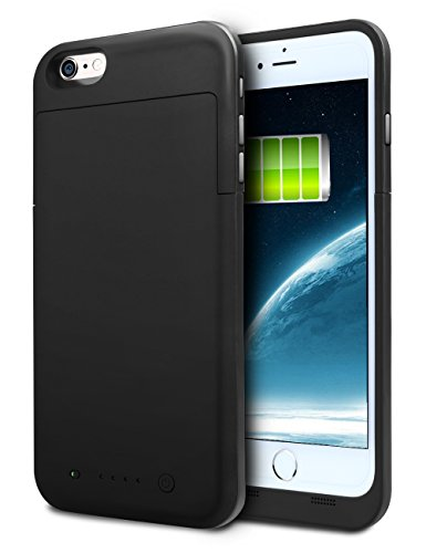 UPC 712243743117, iPhone 6S Plus Battery Case, HianDier 6800mAh Extended Rechargeable Battery Case iPhone 6 Plus / 6S Plus Power Bank Cover Portable Charger Battery Pack for iPhone 6 Plus / 6S Plus 5.5''-Black