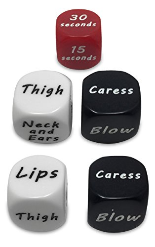 Learn More About Sexy Adult Dice Game for Couples - Foreplay Party Sex Toys - Set of 2 plus Bonus Ti...