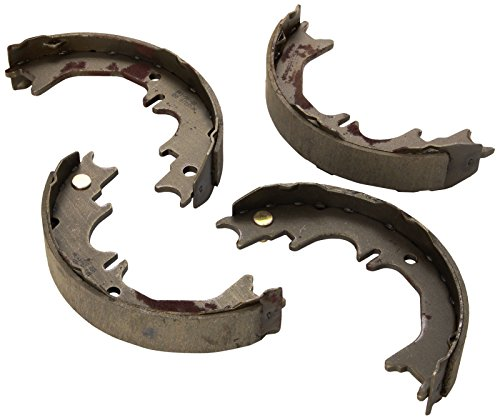(ACDelco 17850B Professional Bonded Rear Parking Brake Shoe Set)