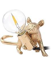 Mouse bordslampa, modern djurmus LED bordslampa nordisk harts staty mus ljus vardagsrum inredning mus lampa för sovrum hem kontor rum estetisk dekoration