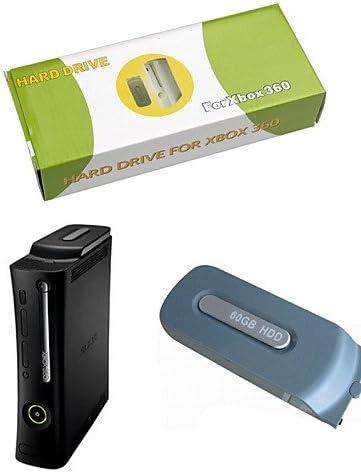 ZZR disco duro externo de buceo para xbox 360 microsoft (no compatible con xbox 360 slim) (60gb de espesor): Amazon.es: Videojuegos