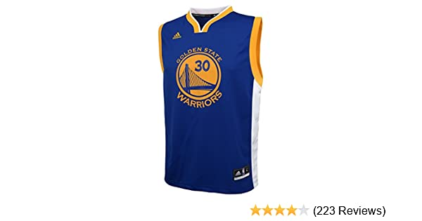 7a4573f6618 Amazon.com   NBA Golden State Warriors Curry S   30 Boys 8-20 Replica Road  Jersey   Sports Fan T Shirts   Clothing