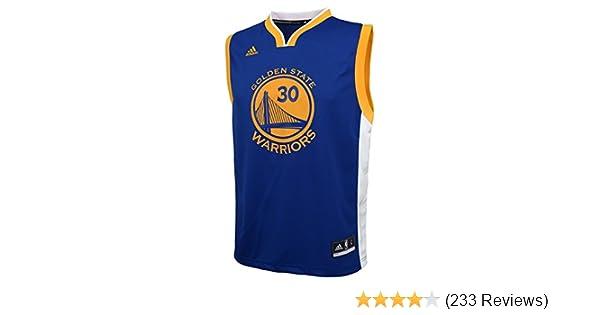 buy online 06e8c d06c6 NBA Golden State Warriors Curry S # 30 Boys 8-20 Replica Road Jersey