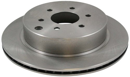 (DuraGo BR900294 Rear Vented Disc Brake Rotor)