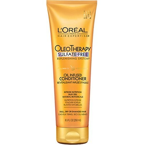 L'Oreal Paris Hair Expertise OleoTherapy Replenishing Conditioner 8.5 oz (Pack of 5) by L'Oreal Paris