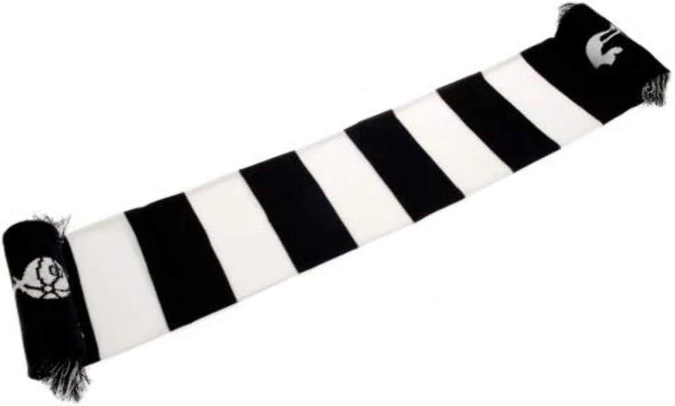 Tottenham Hotspur Spurs Fc Football Club White Blue Striped Scarf Badge Crest Amazon Co Uk Kitchen Home