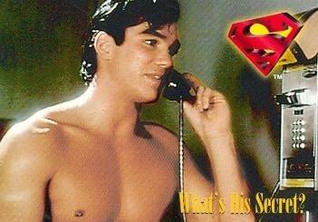 Dean Cain trading card (Lois Clark Superman) 1995 Skybox #20 Shirtless by Autograph Warehouse