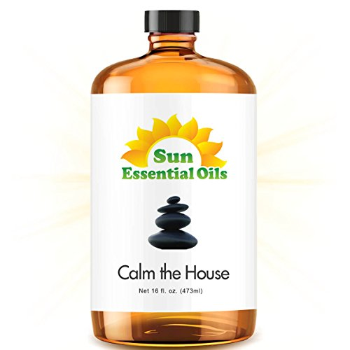 Bulk Calm The House Oil - Ultra 16 Ounce - 100% Pure Essential Oil (Best 16 fl oz / 472ml) - Sun Essential