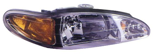 (Depo 331-1144L-AS Ford Escort/Mercury Tracer Driver Replacement Side Headlight Assembly)