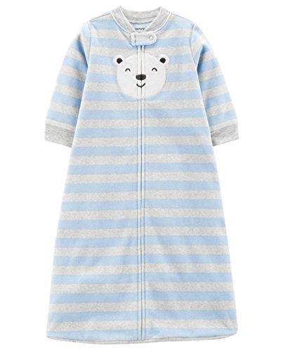 Carter's Unisex Baby Fleece Sleepbag Sleepsuit, Polar Face, Medium 6-9 Months