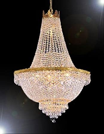 French Empire Crystal Chandelier Lighting