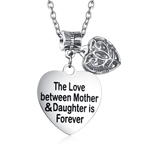 The Love Between Mother and Daughter Is Forever Necklace