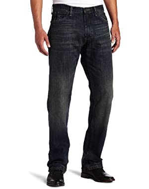 Jeans Men's Relaxed Cross Hatch Jean, Rigger Blue