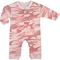 67059 LONG SLEEVE/LEG BABY PINK INFANT ONE-PIECE