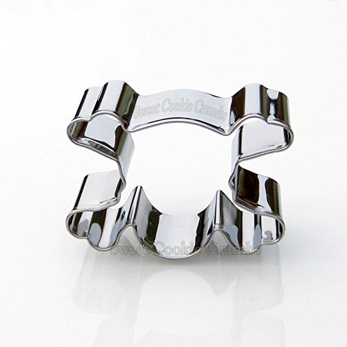 Mini Skull Cookie Cutter- Stainless Steel
