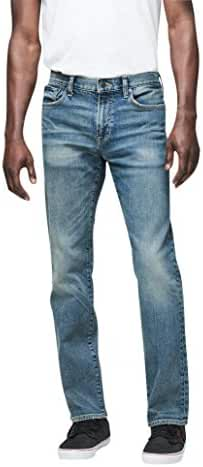 Aeropostale Men's Straight Light Wash Reflex Jean