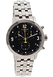 Tissot PRC 200 Black Chronograph Quartz Sport Men's watch #T055.417.11.057.00