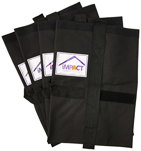 Impact Canopy Weight Bags, Universal Pop Up Canopy Tent Leg Weight Bag, Set of 4