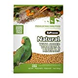 ZuPreem AvianMaintenance Natural Bird Diet for Parrots and Conures, 3 lbs., My Pet Supplies