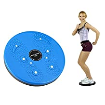 Itian Multifunctional Exercise Equipment Twist Waist Torsion Disc Board Body Massage Board Balance Board for Fitness and Exercise Blue